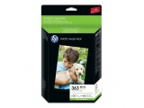 HP Inktcartridge nr.363 serie foto value pack 150 vel/10 x 15 cm