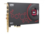 Creative Labs Sound Blaster ZxR, 24 Bit, 5.1, 124 dB, PCI-E, Sound Blaster Z-Series Control Panel SBX Pro Studio CrystalVoice Scout Mode, 1024 MB