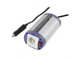 HQ OMVORMER 12 V - 150 W + USB EARTH PIN