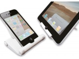 Newstar tablet/smartphone steun en schoonmaak set White
