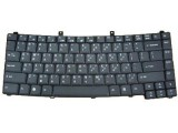 Acer Keyboard US, QWERTY, Zwart, TravelMate 4200