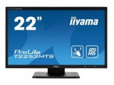 IIYAMA ProLite T2253MTS-B1 21.5inch 54.6cm Optical Dual Touch VGA DVI HDMI USB-HUB Dual Touch with supported OS